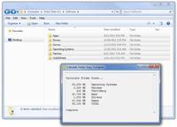 calculate folder sizes