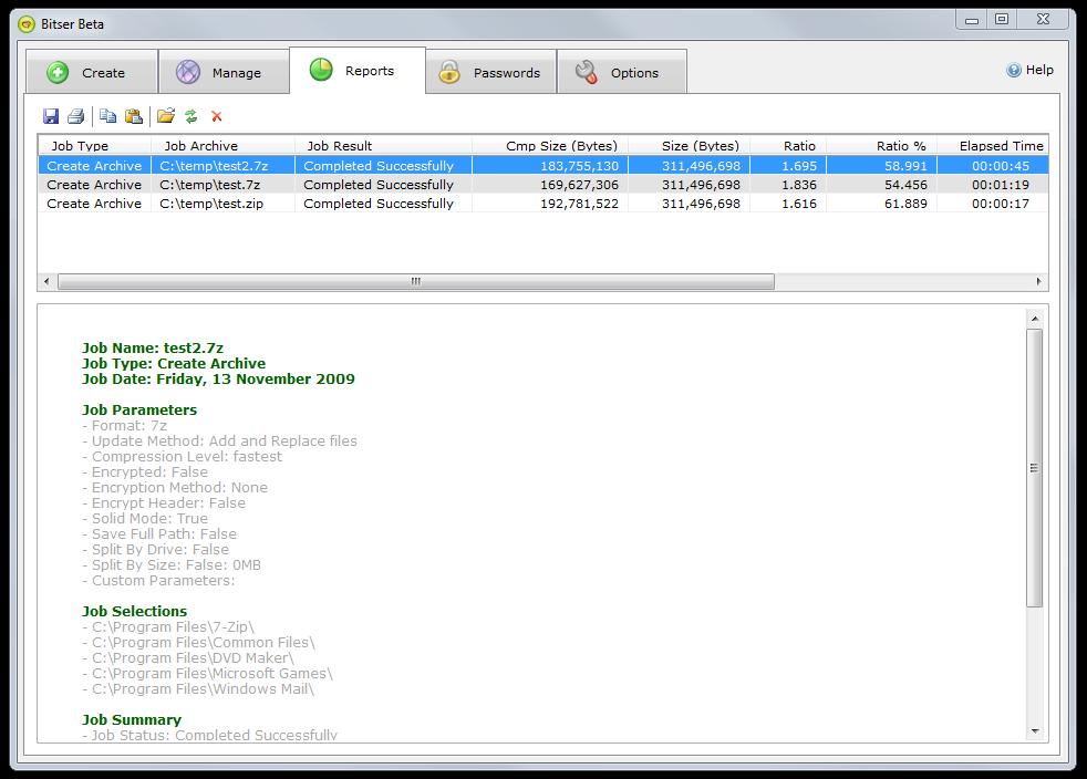 BitSer File Compression Software: Alternative To 7Zip?